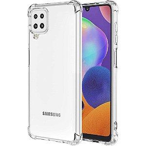 Capa Silicone Anti Impacto para Samsung A12 - Incolor