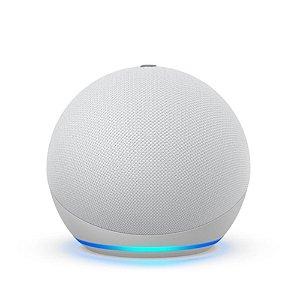 Echo Dot (4ª Geração) Smart Speaker Amazon Alexa - Branco