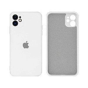 Capa C/ Proteção na Câmera para iPhone 11 Pro - Branca