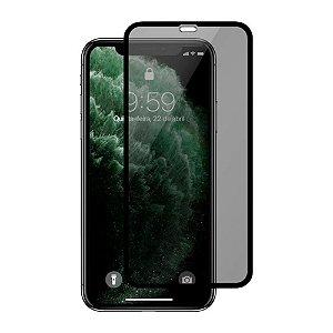 Pelicula de Vidro 3D Privacidade para iPhone XS Max e 11 Pro Max