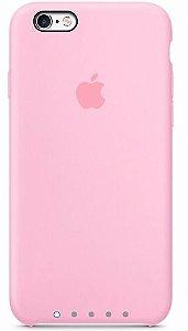 Case Apple de Silicone para iPhone 6 / 6s, ROSA - MKY22BZ/R Apple