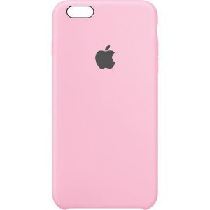 Capa Case Apple Silicone para iPhone 6G 6S - Rosa