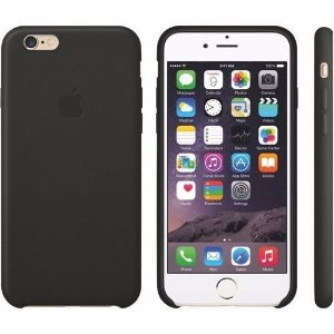 Capa Case Apple Silicone para iPhone 6G 6S - Preta