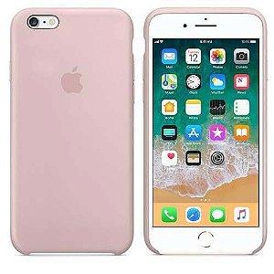 Case Apple de Silicone para iPhone 6 / 6s, ROSA AREIA - MKY22BZ/AR Apple