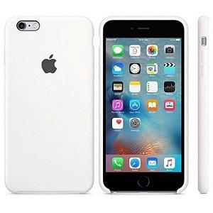 Capa Case Apple Silicone para iPhone 6G 6S - Branca