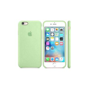 Capa Case Apple Silicone para iPhone 6G 6S  - Verde