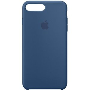 Capa Case Apple Silicone para iPhone 7 8 Plus - Azul Marinho