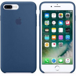 Capa Original Apple para iPhone 8 Plus/ 7Plus, Azul Marinho - MKY24BZ/A Apple