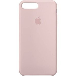 Capa Case Apple Silicone para iPhone 7 8 Plus - Rosa Areia
