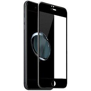 Película De Vidro 3D 5D para Apple iPhone 6 7 8 - Preta
