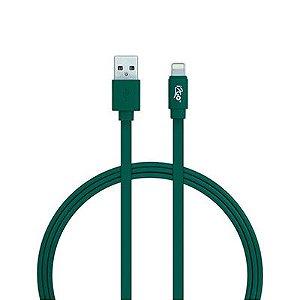 Cabo Lightning Homologado Usb I2GO Para iPhone 5/6/7/8/X Verde