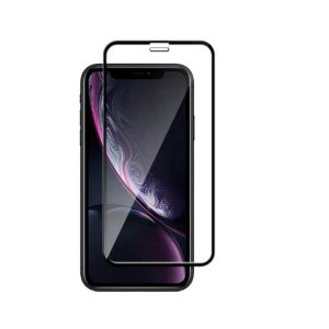 Película de Vidro 3D 5D Apple Iphone 11 e XR 6.1 - Preta