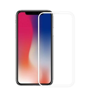 Película De Vidro 3D Apple iPhone Xs 11 Pro Max 6.5 - Branca
