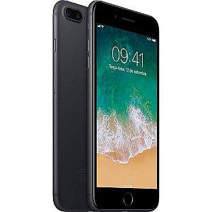 "iPhone 7 Plus 32GB Preto Matte Tela Retina HD 5,5"" Touch Câmera Dupla de 12MP  iOS 11 Proc. Chip A10 - Apple"