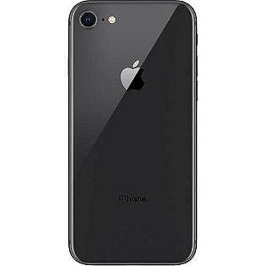 """iPhone 8 Apple com iOS 11, Câmera de 12 MP, Resistente à Água, Wi-Fi, 4G LTE e NFC, 64GB, Preto, Tela HD de 4,7"""""""