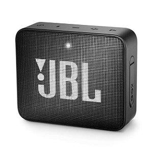 Caixa de Som Bluetooth JBL GO 2 (À prova de água) - Preto