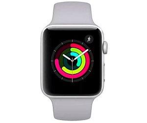 Apple Watch S3 (GPS) Caixa Aluminio 38MM Pulseira Branca