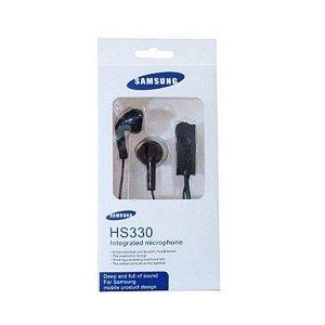 Fone de ouvido com fio Samsung Hs330 -Preto