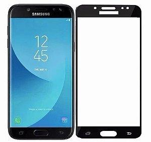 Película de Vidro 3D 5D e 6D para Samsung Galaxy J5 Pro Preta