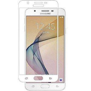 Película de Vidro 3D 5D e 6D Samsung Galaxy J7 Prime Branca