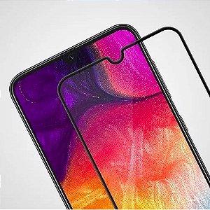 Película de Vidro 3D 5D e 6D para Samsung Galaxy M50 - Preta