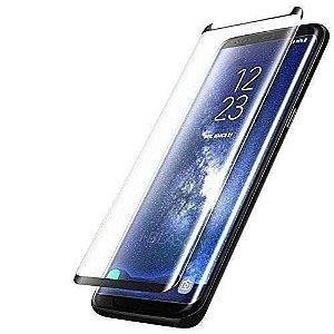 Película de Vidro 3D 5D e 9D Samsung Galaxy S8 e S9 - Preta
