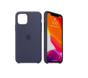 Capa Case Apple Silicone para iPhone 11 - Azul Marinho