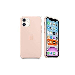 Capa Case Apple Silicone para iPhone 11 - Rosa Areia