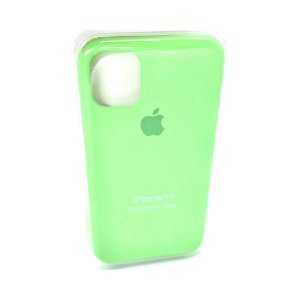 Capa Case Apple Silicone para iPhone 11 - Verde