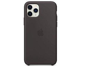 Capa Case Apple Silicone para iPhone 11 Pro - Preta