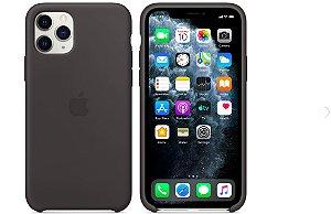 Capa Case Apple Silicone para iPhone 11 Pro Max - Preta