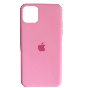Capa Case Apple Silicone para iPhone 11 Pro Max - Rosa