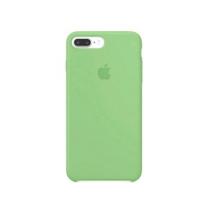 Capa Case Apple Silicone para iPhone 7 8 Plus - Verde