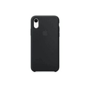 Capa Case Apple Silicone para iPhone XR 6.1 - Preta