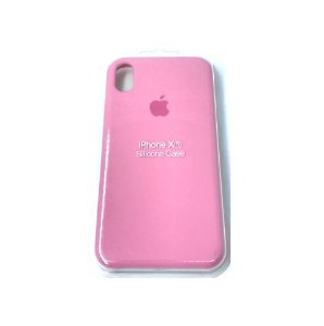 Capa Case Apple Silicone para iPhone XR 6.1 - Rosa