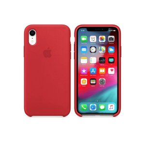 Capa Case Apple Silicone para iPhone XR 6.1 - Vermelha