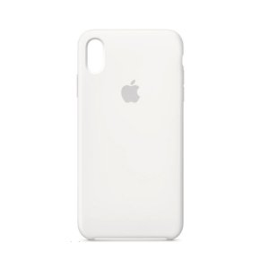 Capa Case Apple Silicone para iPhone Xs Max - Branca
