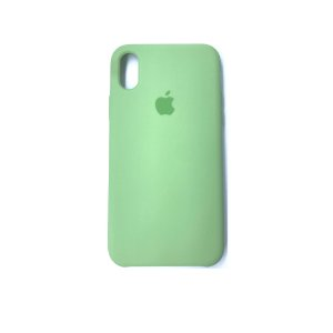 Capa Case Apple Silicone para iPhone Xs Max - Verde