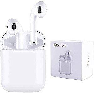 Fone de Ouvido EarPods Bluetooth TWS I9S - Branco