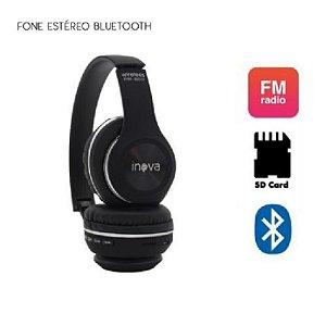 Fone de ouvido estéreo Bluetooth Inova FON-2221D