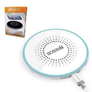 Carregador Wireless Sem fio Hrebos HS-94 - Branco