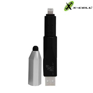 Caneta Xc-Pen Touch Screen + Adaptador USB Lightning -Preta