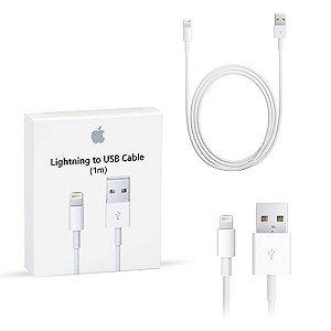 Cabo Lightning compatível com iPhone 5, 6, 7, 8, X - Branco