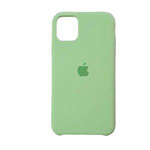 Capa Case Apple Silicone para iPhone 11 Pro Max - Verde