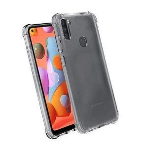 Capa Silicone Anti Impacto para Samsung M11 e A11 - Incolor