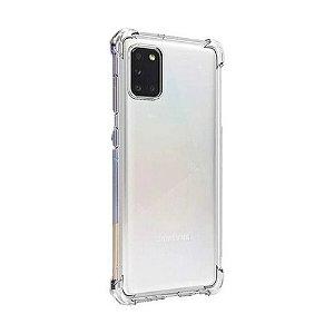 Capa Silicone Anti Impacto para Samsung A31 Transparente