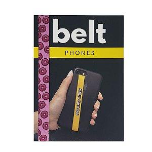 Fita Cinto de Segurança Salva Celular Belt - Donuts