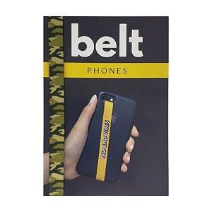 Fita Cinto de Segurança Salva Celular Belt - Camuflado