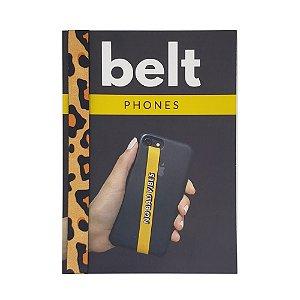 Fita Cinto de Segurança Salva Celular Belt - Animal Print