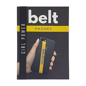 Fita Cinto de Segurança Salva Celular Belt - Girl Power